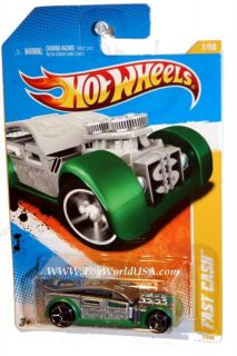 2011 Hot Wheels New Models 7 Fast Cash