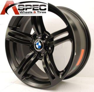 18x8 BMW M6 Style Matt Black Wheel Fit BMW 323 325 328 330 335xi 1998