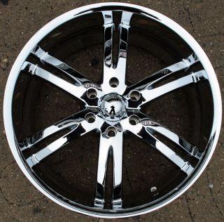 Akuza Dominion 701 20 Chrome Rims Wheels 20 x 9 0 Chevrolet Avalanche
