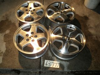 98 00 Accord Set of Aluminum Wheels Honda Rim 16x6 1 2 5 Lug 115mm