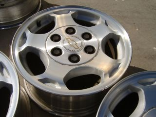 99 04 Chevy 1500 P U Truck Tahoe Suburban 16 Alloy Wheels Rims