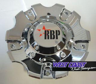 RBP 93R Chrome Wheel Rim Replacement Center Cap Cover Part C 93R 17 18