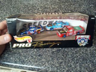HOT WHEELS 1998 NASCAR PRO RACING PLAYERS INC. SPECIAL EDITION CAR SET