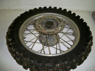 1984 Honda XR350R Rear Wheel Rim