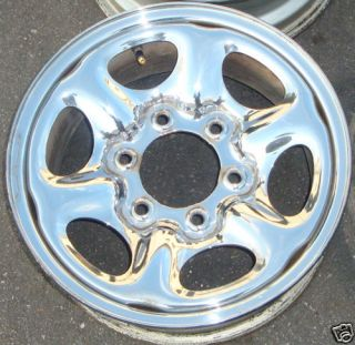 15 90 93 97 Nissan Pickup Chrome Steel Wheel 4x4 Rim