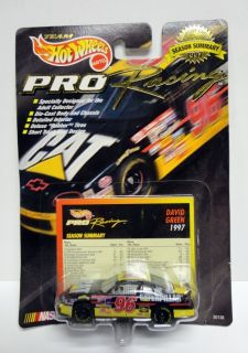 1997 Hot Wheels NASCAR Pro Racing #96 Caterpillar Chevy Monte Carlo
