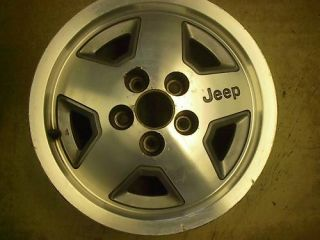 87 93 95 Jeep Cherokee Wrangler Alloy Wheel Rim 15