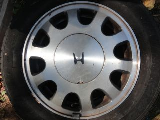 90 91 92 93 Honda Accord SE 15 Aluminum Wheel Rim Factory