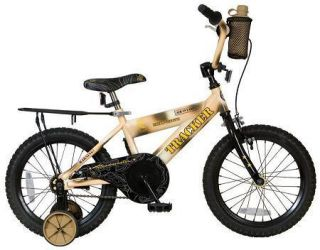 kids boys 16 inch camo training wheels ride on toy bike bicycle