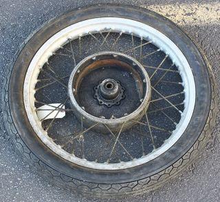 R60 R75 R90 Weinmann Front Wheel Rim Hub Spoke Wire Tire OEM