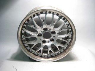 17x8 OEM BBS 2 Piece Wheel Rim Style 42 97 03 525i 528i 530i 540i USED