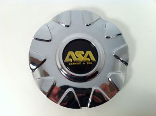 ASA Wheels Chrome Center Caps Part 8B340 IS5