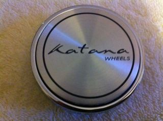 Katana Wheels Chrome Center Cap Part GT7 Cap
