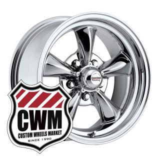 17x8 Chrome Aluminum Wheels Rims 5x5 pattern for Chevy C10 Truck 73 87