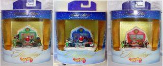 Christmas 2004 Holiday Hot Wheels Vehicle Set 3 Car Lot REDUCED