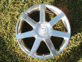 CADILLAC XLR 2004 2008 4 each Wheel Rim Factory OEM 7 SPOKE polished