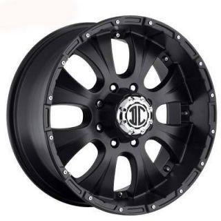 Xtreme Offroad NX 2 18x9 8x165 1 ET12 Black Wheels 4 New Rims