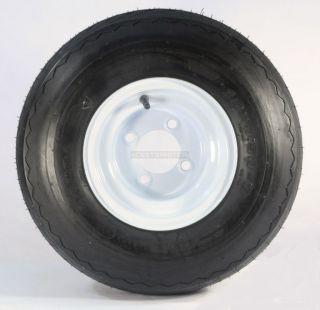Four Golf Cart Tires Rims 18 x 8 5 x 8 18 850 8 18x8 50 8 White 4 Lug