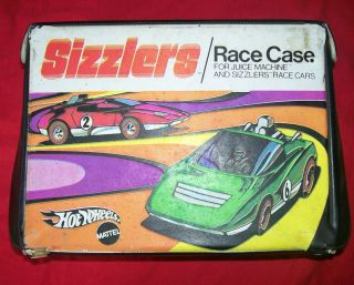 1970 Hot Wheels Red Line Sizzlers Race Case