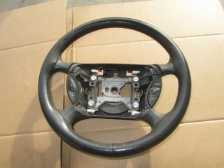 Mustang Cobra SVT Steering wheel 94 04 Genuine Double Wrapped Leather