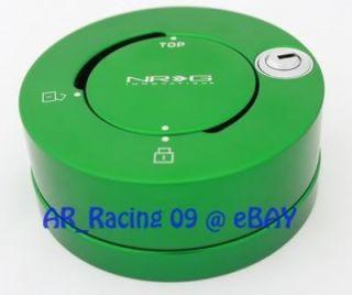 NRG Quick Release Hub Lock Green SRK 101GN