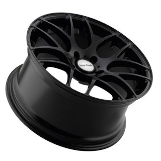 18 Avant Garde M310 Matte Black Wheels Rims Fit Volkswagen Passat VW