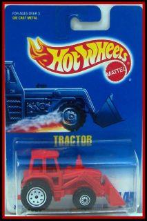 1992 Hot Wheels 145 Tractor