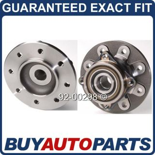 Pair Dodge RAM 2500 4x4 Front Wheel Hub Bearings 94 97