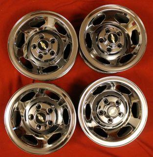 454SS Sport truck wheels chrome 1988 97 15x7 SS350 GMC Sierra Tahoe SS
