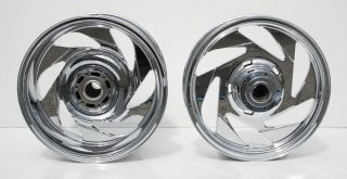 Boulevard New Chrome Wheels Rims Wheel Set Show Quality Chrome