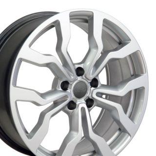 18 Fits Audi Hyper Silver R8 Style Replica Wheel