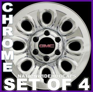 Lug Chrome Wheel Skins Simulators Rim Covers 8HOLE Steel Wheels
