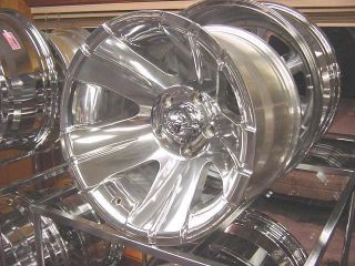15x8 138 Polished ion Wheels Chevy GM S10 S15 Blazer 4x4 Only ZR2