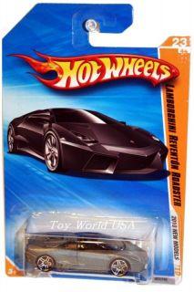 10 Hot Wheels New Models 23 Lamborghini Reventon Road