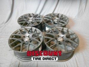 18x8 5 5x114 3 5 114 3 Nurburgring Matte Gunmetal Wheels Rims