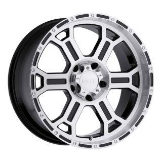 inch V ec Rapor Gloss Black Machined Wheels Rims 5x5 5x127 00