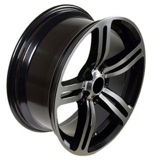 M6 Replica Rims Machined Black Wheels Winter Rims 5 6 7 8 Series Set