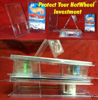 Hot Wheels 20 Protectors Stackable Clam Shell Design