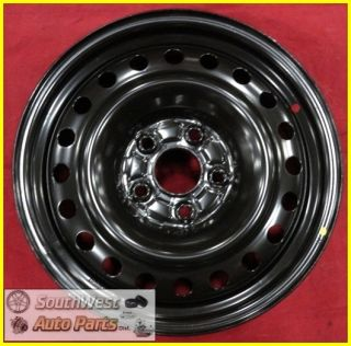 99 01 02 03 04 Honda Odyssey 16 5x115 Black Steel Wheel New Take Off