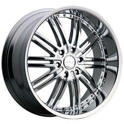 20 inch Menzari Z08 Chrome Wheels Rims 5x112 35 Volkswagen CC GTI