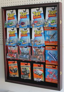 Display Case Cabinet for Hot Wheels in Blister Pack or Retaill Box