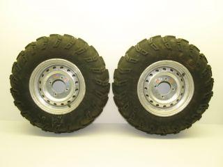 08 Kawasaki Brute Force 750 Front Wheels Rims Tires