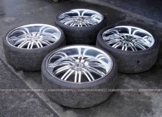 24 Versante VE212 Used Wheels Tire Dodge Charger Magnum 300C