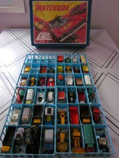 Lot of 41 Vintage Matchbox, Hot Wheels Redline, Corgi Die Cast Cars w