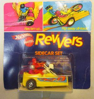 Hot Wheels Revvers Side Car and Bone Shaker Rumbler