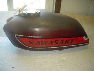 1975 Kawasaki KH400 Triple 400 Fuel Gas Tank