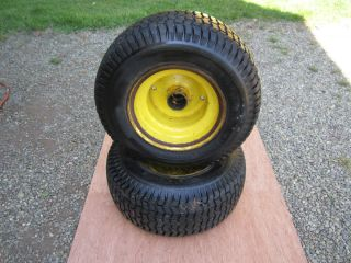 John Deere 110 112 140 Front Rims Tires