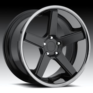 20 inch Niche Nurburg Black Wheels Rims Staggered 5x112 Mercedes SL