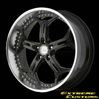 18 x8 Helo HE834 Gloss Black Machined 5 Lugs One Single Wheel Rim