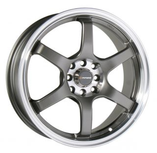 17 Raze Wheels Rims Honda Accord Civic Fit Integra Yaris Sentra 4x100